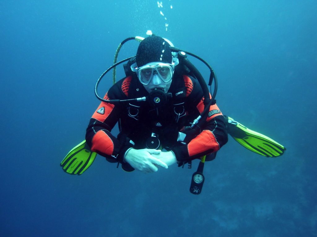 Scuba Diver 1024x768 - Why Scuba Diving is a Good Activity to Add to Your Travels