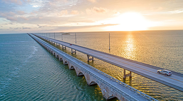 OverseasHighway - Top 3 Road Trip Routes in the United States